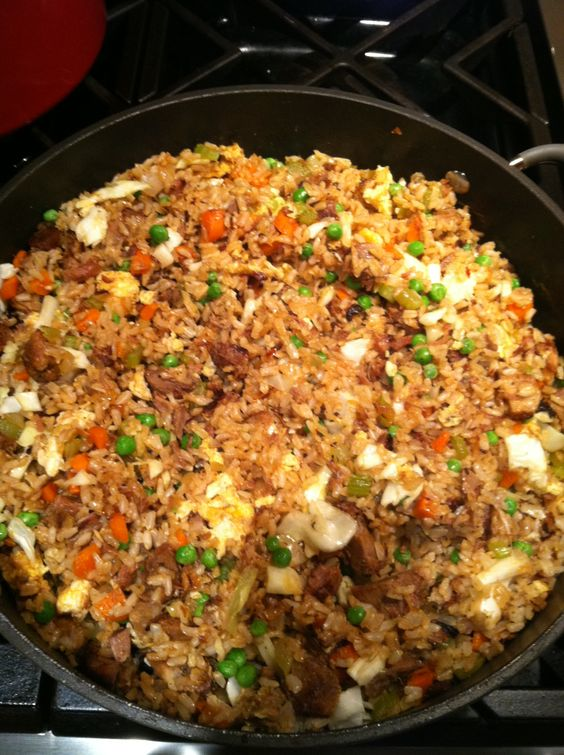 The Best Fried Rice You'll ever make! | Sloppy Jo's: