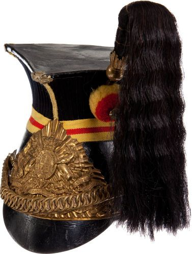 British Sixteenth Lancers Post 1902 Other Ranks' Cap ...