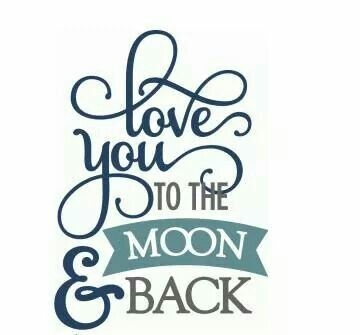Download Love you to the moon and back.   Qoates   Pinterest   Love ...