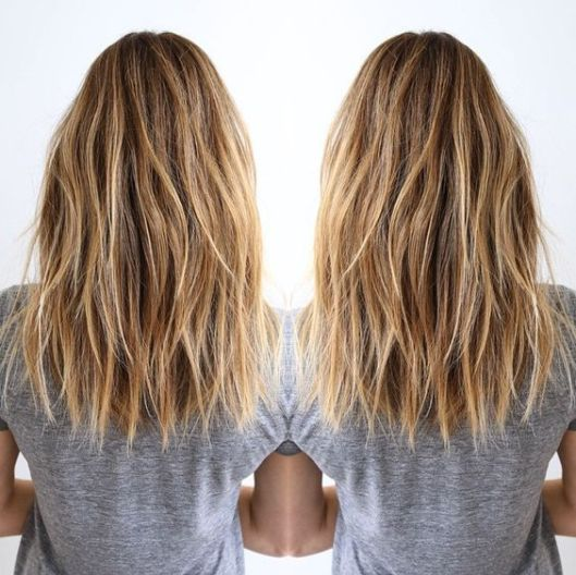 Keeping your hair wavy is really cute with long bob hairstyles!