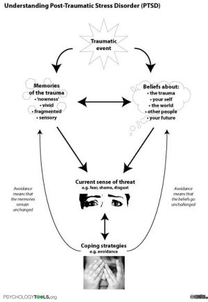 Understanding PTSD  a diagram to help people understand