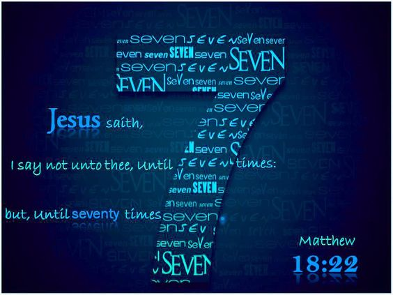 Image result for Matthew 18:22