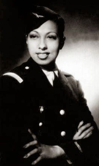 Josephine Baker Aided the French Resistance and Received Medal of Honor. She was awarded two other medals for her bravery.: