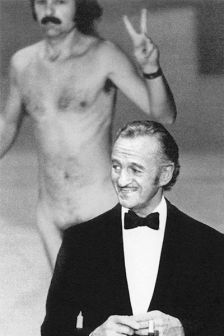 Image result for ROBERT OPEL STREAKING AT THE OSCARS