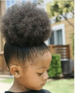 Beautiful Puff on a Mini Natural IG:@the_kennedy_marie_ #naturalhairmag