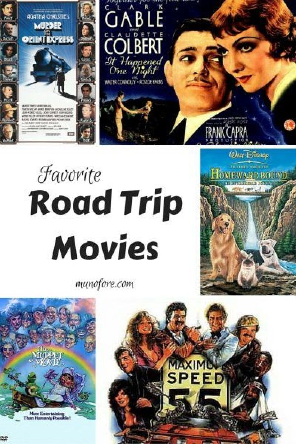 Favorite Road Trip Movies - movies about road trips for your road trip: