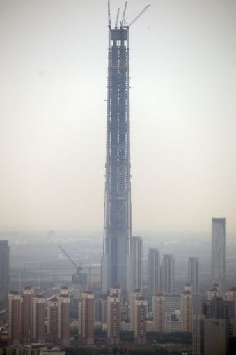 Tianjin Goldin 117 Finance Tower