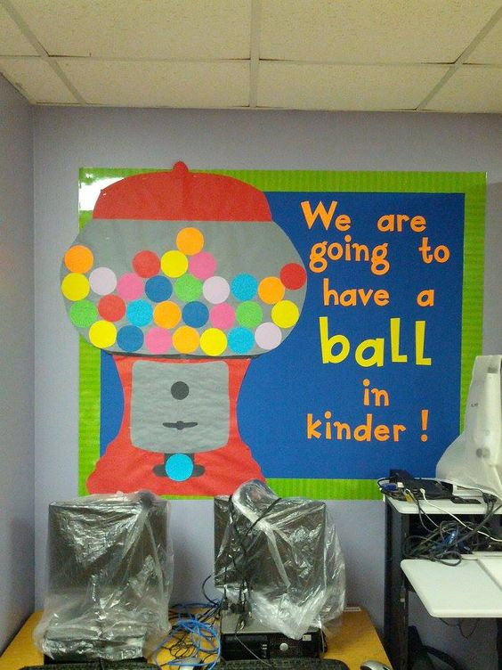 Kindergarten Gumball And We On Pinterest