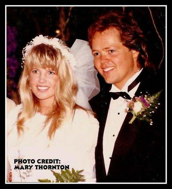 Jimmy And Michelle Osmond June 7 1991 An Osmond Family