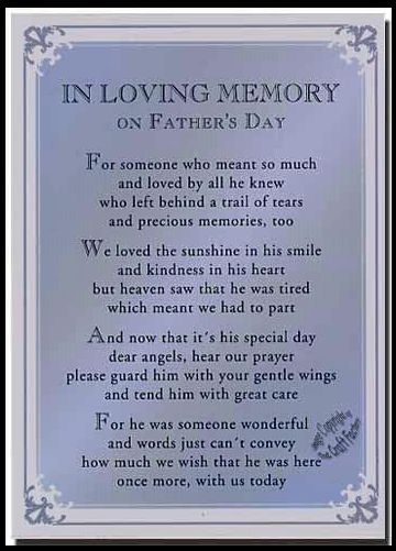 Miss you Dad -- Father's Day Tribute | Quote for husband ...