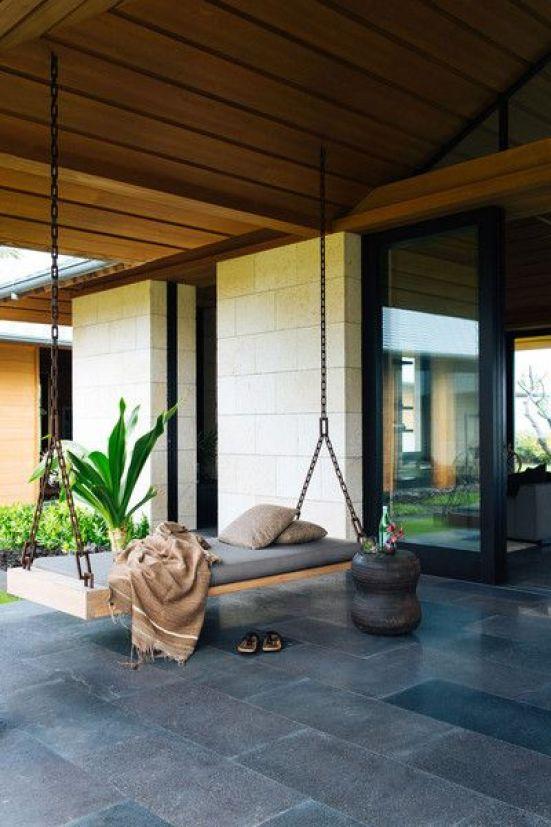 un'idea decorativa perfetta per coloro che amano la comodità e il relax in stile