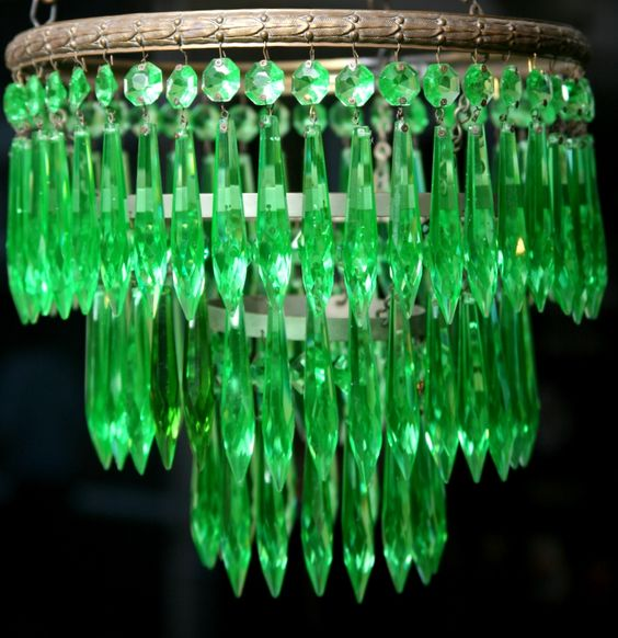 Details About Uranium Glass Candy Jar Jars And