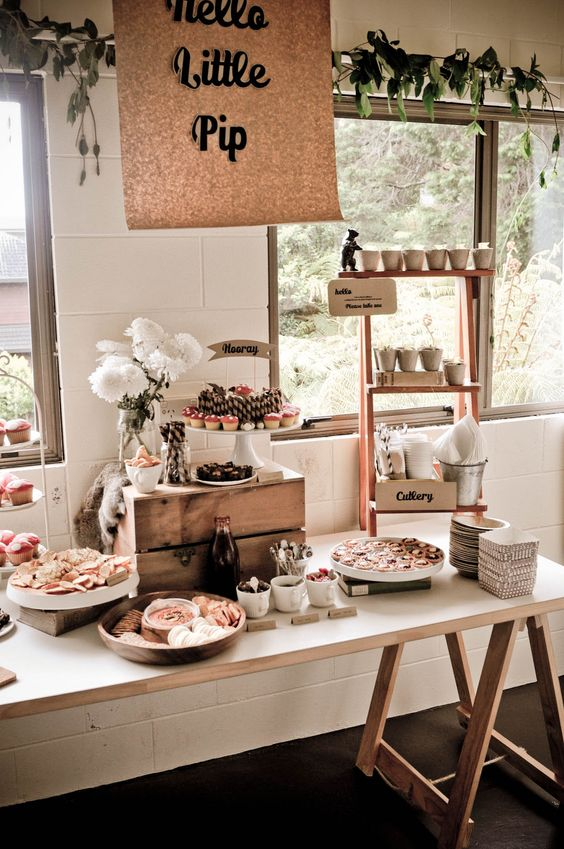 Stand for, Country baby showers and Serving dishes on ...