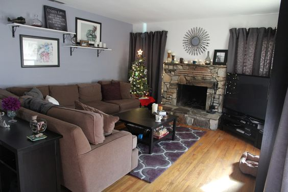 Brown Sectional, Moroccan Style And Rugs On Pinterest