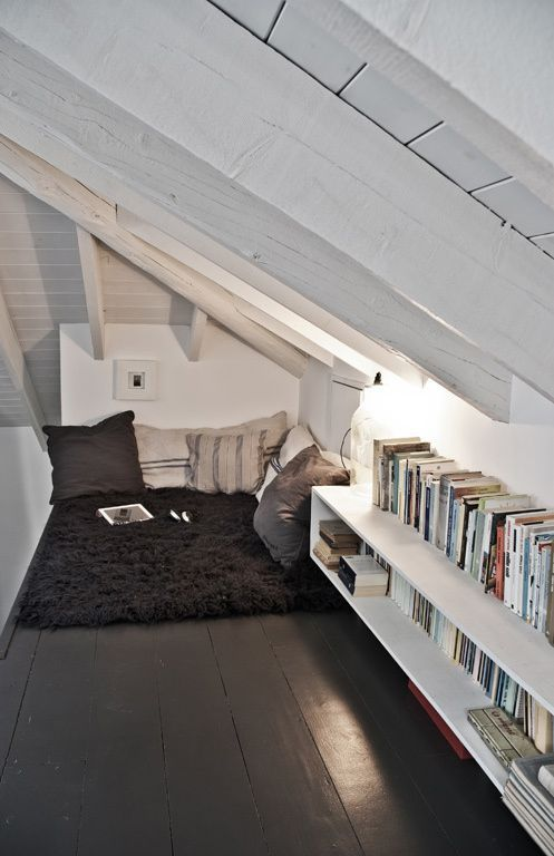 The Attic Nook | 44 Cozy Nooks You'll Want To Crawl Into Immediately: