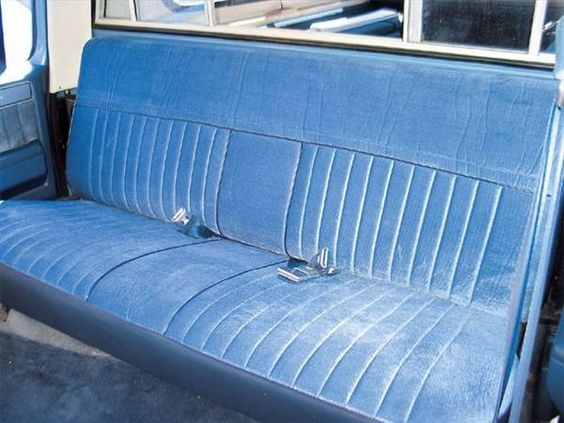 Trucks Bench Seat And Seat Covers On Pinterest