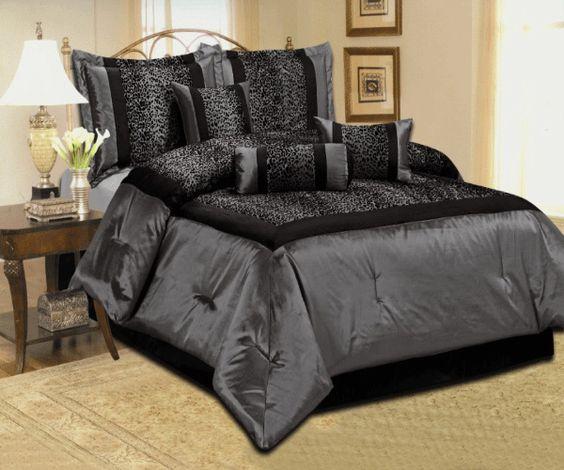 Cheetah Bedding, Black Comforter Sets And Black Comforter