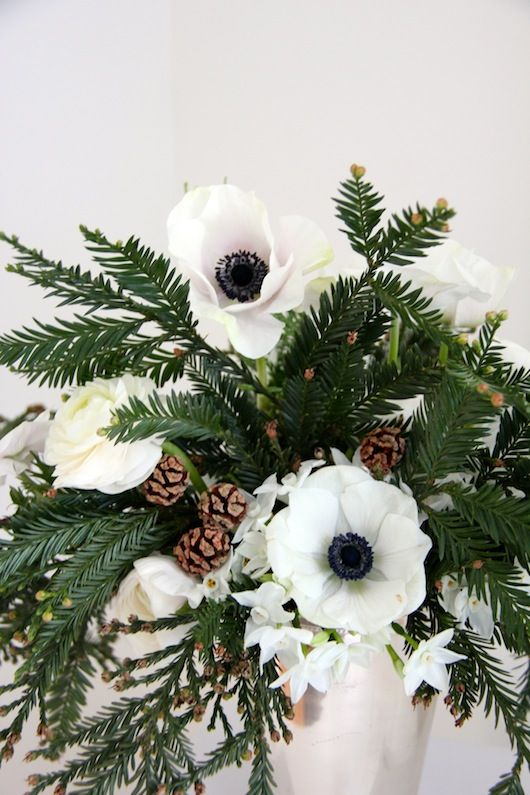 Blooms in Season: December | by Natalie Bowen Designs for Sacramento Street:
