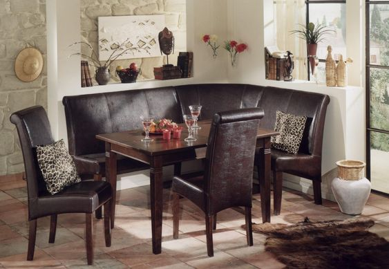 built in breakfast nook kitchen dining nook set celebrity inspired style hair and beauty on kitchen nook id=65230