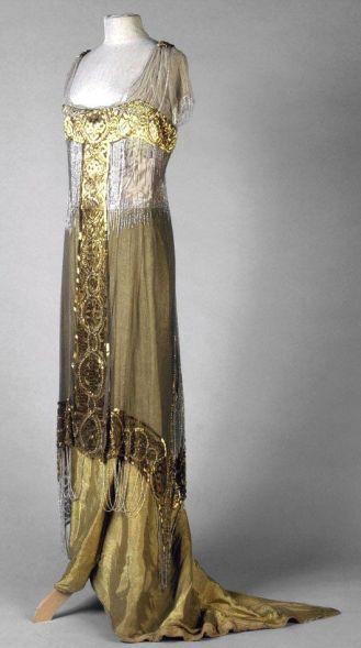 Evening Dress 1913: