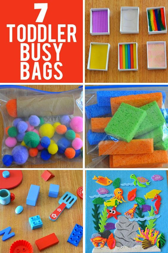 7 Busy Bag Ideas for Toddlers | Bags, Looking forward and ...