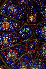 Vitraux - Cathédrale Notre-Dame de Reims http://www.pinterest.com/adisavoiaditrev/: