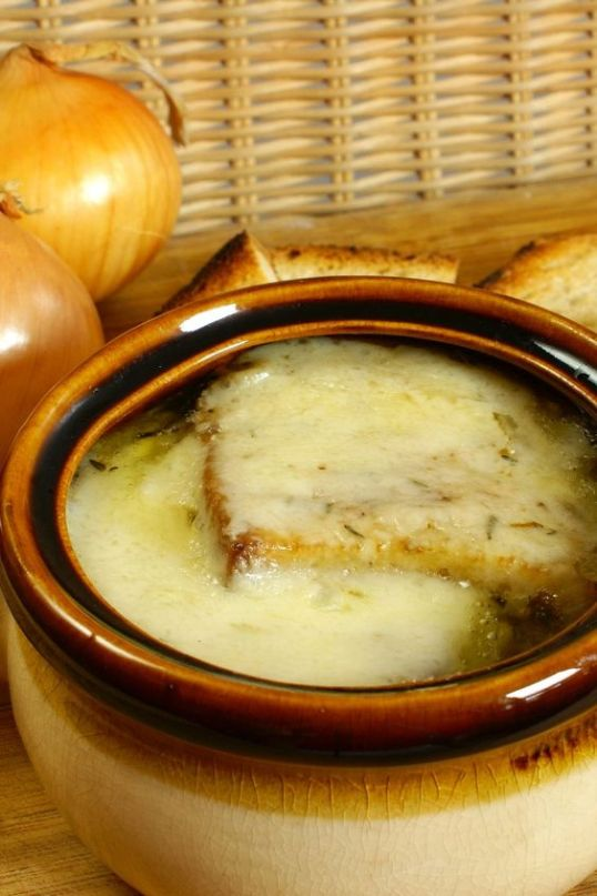 Delicious French Onion Soup: