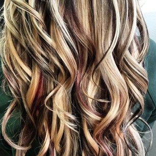 Peekaboo Highlights For Brown Hair Google Search Hair