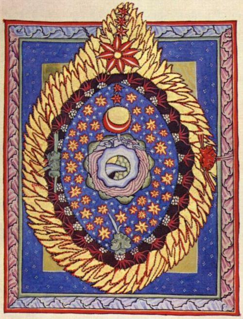 O Universo em formato de Ovo, de Hildegarda de Bingen