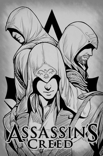 assassins creed coloring pages and coloring on pinterest