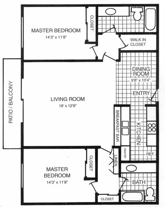 Master Suite Floor Plans For New House Master Suite Floor