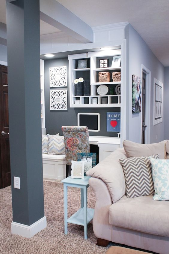 office work nook wall colors love light gray is sw on basement color palette ideas id=21532