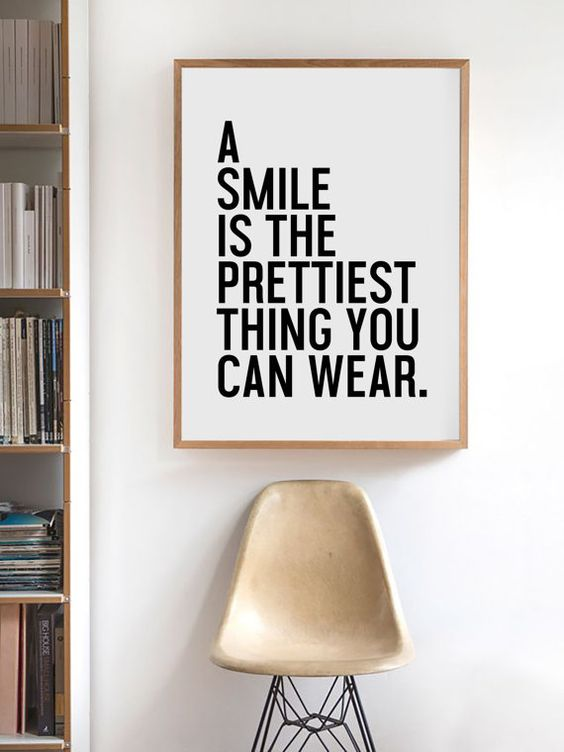 A Smile Is The Prettiest Thing You Can Wear by honeymoonhotel: