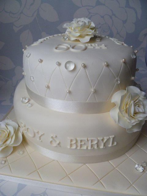 60th Wedding Anniverary Cake Diamond 60th Wedding