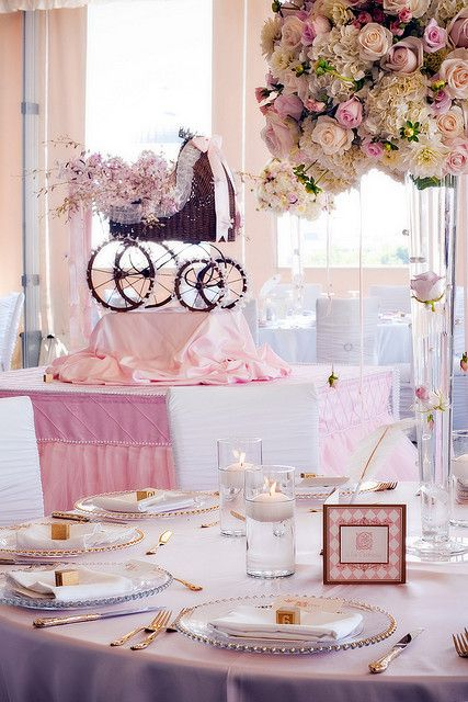Baby Shower Table Baby Showers And Showers On Pinterest