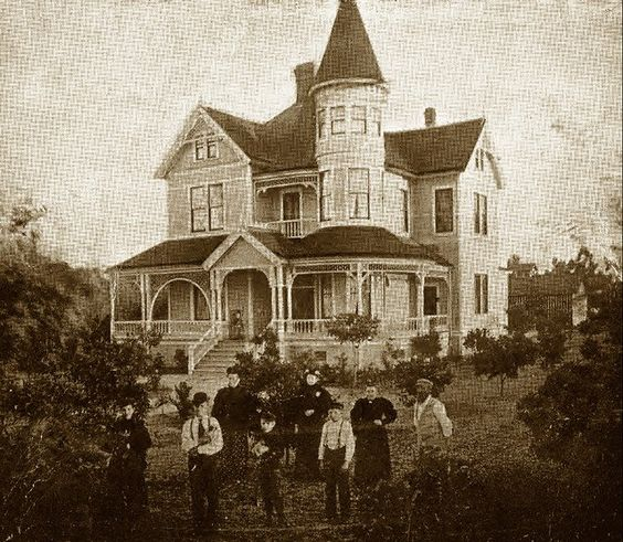 Woelke House Anaheim CA Built 1894 Vintage Orange