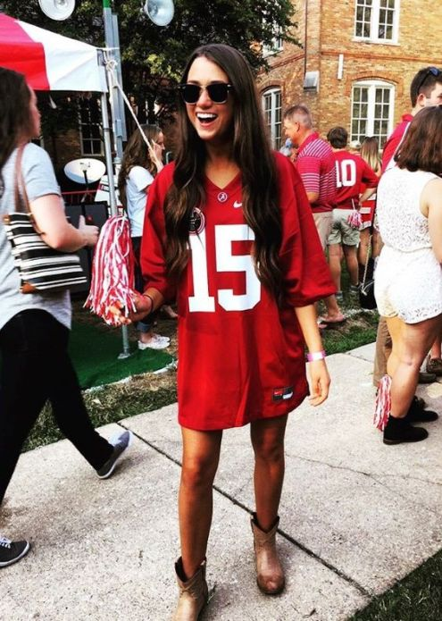 8 Cute Gameday Outfits At University of Alabama