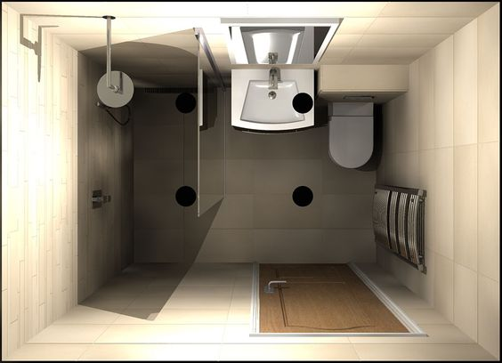 A Small Wetroom With Walkin Shower Screen Designed By Room