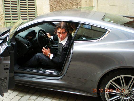 rara nadal | Rafael Nadal rafa nadal and sister in car !