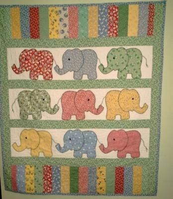 elephant baby quilts   julie s quilt i made this quilt for a friend s daughter she was: