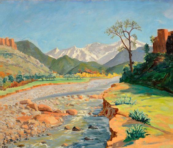 winston churchill's paintings - Google Search:
