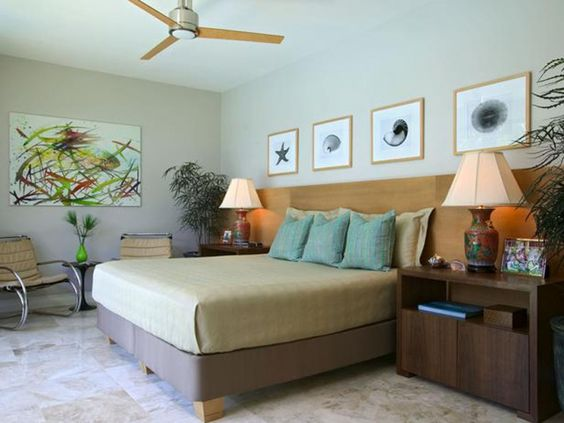 Bedroom : Beach Theme Master Bedroom S4x3 Lg Brown Bedding