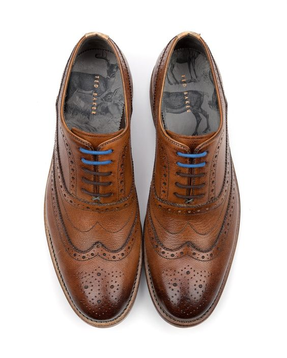 matching oxford/borgues for wedding shoes | Raddest Men's Fashion Looks On The Internet: http://www.raddestlooks.o: