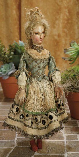 Venetian Carved Wooden Court Lady with Beautiful Face and Original Costume 2500/3500 | Art, Antiques & Collectibles Toys & Hobbies Dolls | Auctions Online | Proxibid:
