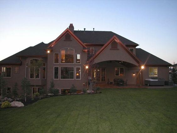 Lane Myers Construction Custom Home Builder, Partial