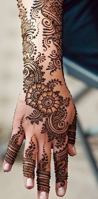 Following are few easy and simple mehndi designs which are back of the hand . ...: