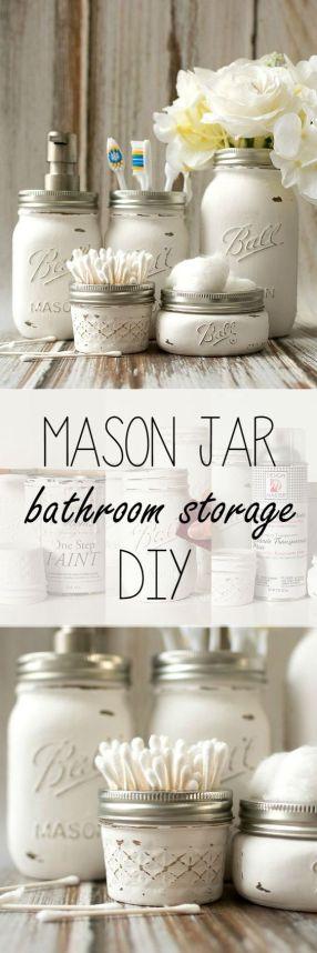 Bathroom Storage on a budget