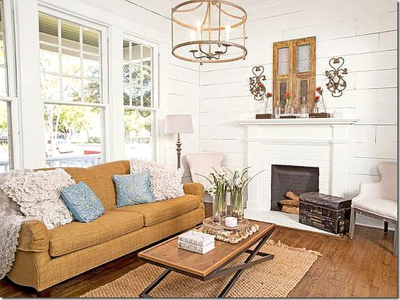 joanna gaines sofa rug chandelier whole room home on show me beautiful wall color id=16759