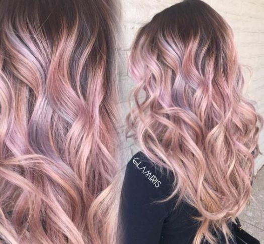 21 Rose Gold Hairstyles You Ll Want To Try Society19