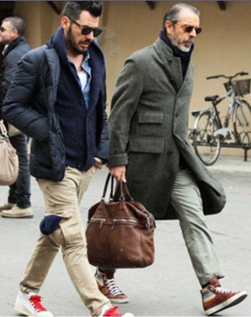 Milan Street Style, Pitti Uomo, Men's Fall Winter Fashion.: